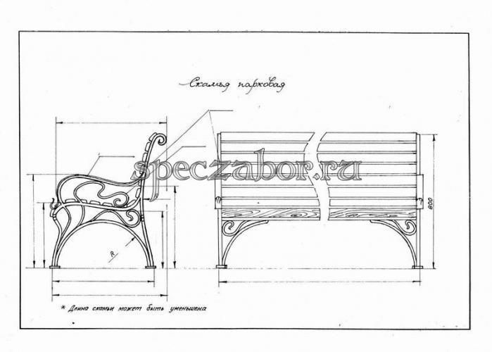 Деревянные скамейки своими руками фото чертежи фото 106